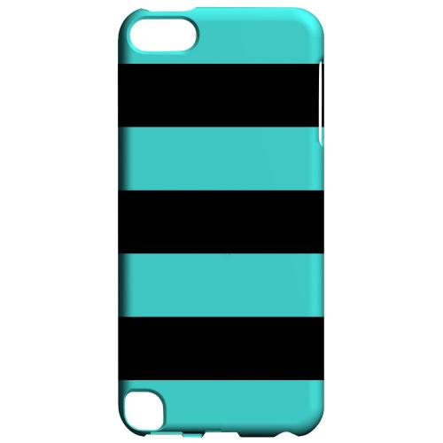 Geeks Designer Line (GDL) Slim Hard Case for Apple iPod Touch 5 - Colorway Black/ Teal