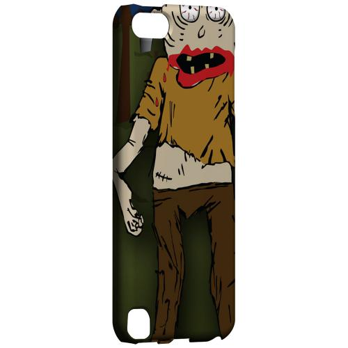 Geeks Designer Line (GDL) Slim Hard Case for Apple iPod Touch 5 - Zombie in Graveyard