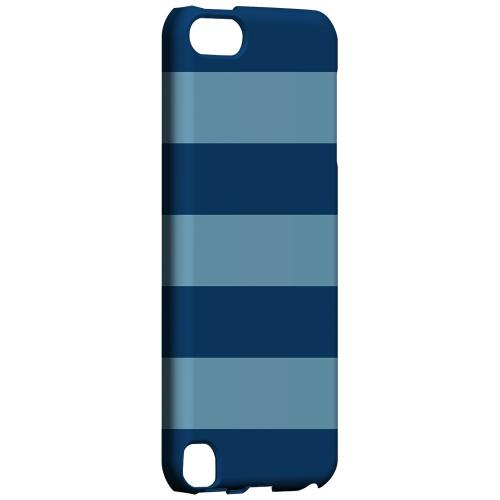 Geeks Designer Line (GDL) Slim Hard Case for Apple iPod Touch 5 - Monaco Blue/ Dusk Blue