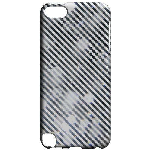 Geeks Designer Line (GDL) Slim Hard Case for Apple iPod Touch 5 - Thin Shimmer Diagonal