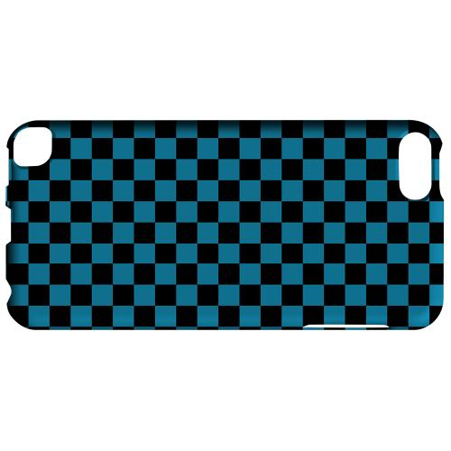 Geeks Designer Line (GDL) Slim Hard Case for Apple iPod Touch 5 - Aqua Blue/ Black