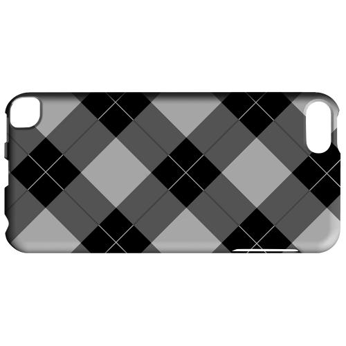 Geeks Designer Line (GDL) Slim Hard Case for Apple iPod Touch 5 - Black/ White/ Gray Plaid
