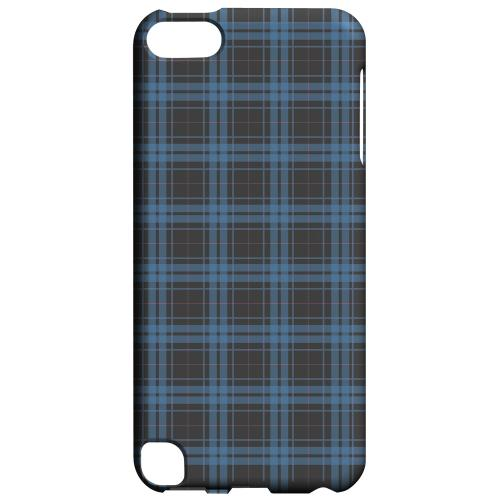 Geeks Designer Line (GDL) Slim Hard Case for Apple iPod Touch 5 - Blue/ Gray/ Pink Plaid
