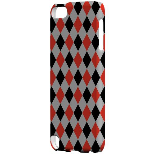 Geeks Designer Line (GDL) Slim Hard Case for Apple iPod Touch 5 - Charlatan Diamonds