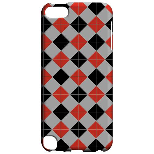 Geeks Designer Line (GDL) Slim Hard Case for Apple iPod Touch 5 - Charlatan Tiles