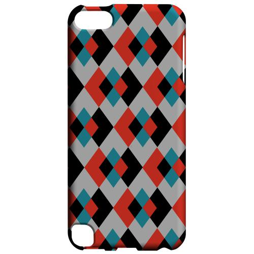 Geeks Designer Line (GDL) Slim Hard Case for Apple iPod Touch 5 - Double Diamond Vision