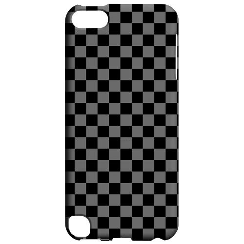 Geeks Designer Line (GDL) Slim Hard Case for Apple iPod Touch 5 - Gray/ Black