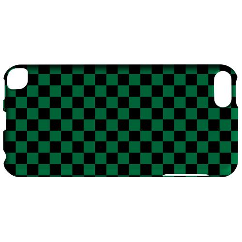 Geeks Designer Line (GDL) Slim Hard Case for Apple iPod Touch 5 - Green/ Black