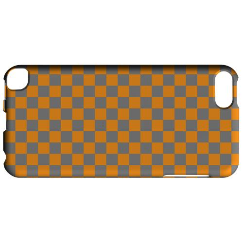 Geeks Designer Line (GDL) Slim Hard Case for Apple iPod Touch 5 - Orange/ Gray