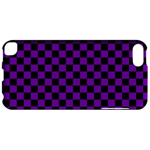 Geeks Designer Line (GDL) Slim Hard Case for Apple iPod Touch 5 - Purple/ Black