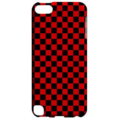 Geeks Designer Line (GDL) Slim Hard Case for Apple iPod Touch 5 - Red/ Black