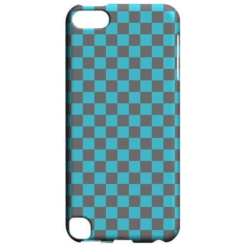 Geeks Designer Line (GDL) Slim Hard Case for Apple iPod Touch 5 - Teal/ Gray