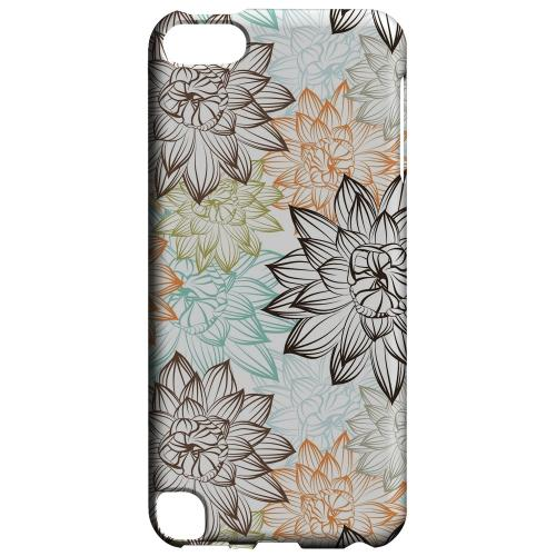 Geeks Designer Line (GDL) Slim Hard Case for Apple iPod Touch 5 - Floral Explosion