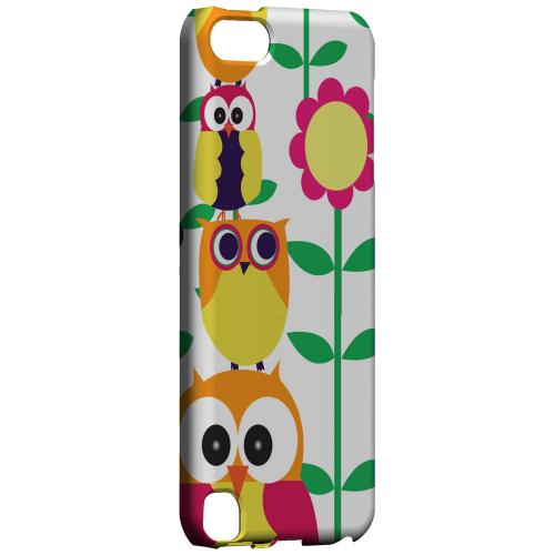Geeks Designer Line (GDL) Slim Hard Case for Apple iPod Touch 5 - Colorful Owl Tower