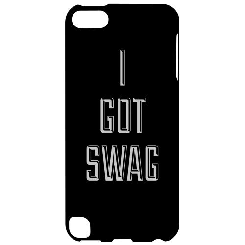 Geeks Designer Line (GDL) Slim Hard Case for Apple iPod Touch 5 - I Got Swag