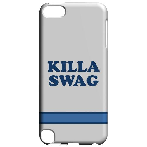 Geeks Designer Line (GDL) Slim Hard Case for Apple iPod Touch 5 - Killa Swag