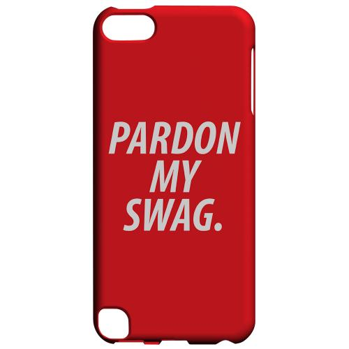 Geeks Designer Line (GDL) Slim Hard Case for Apple iPod Touch 5 - Pardon My Swag