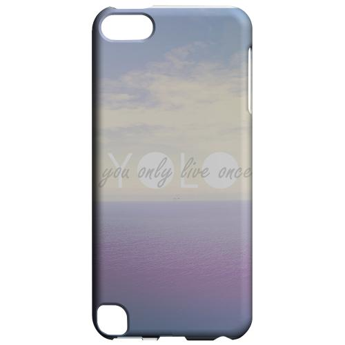 Geeks Designer Line (GDL) Slim Hard Case for Apple iPod Touch 5 - Filled YOLO