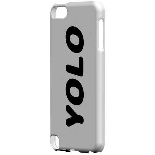 Geeks Designer Line (GDL) Slim Hard Case for Apple iPod Touch 5 - Rounded YOLO