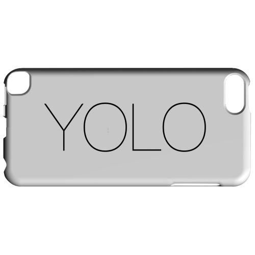 Geeks Designer Line (GDL) Slim Hard Case for Apple iPod Touch 5 - Thin YOLO