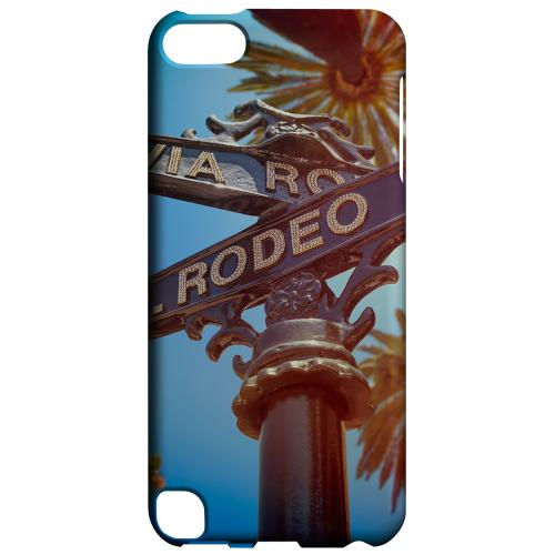 Geeks Designer Line (GDL) Slim Hard Case for Apple iPod Touch 5 - Beverly Hills