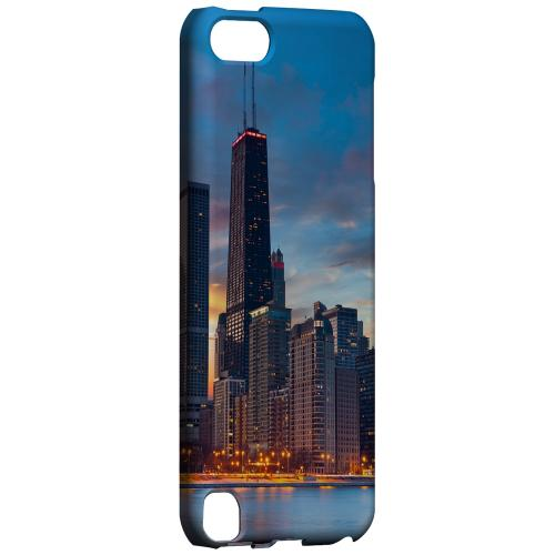 Geeks Designer Line (GDL) Slim Hard Case for Apple iPod Touch 5 - Chicago