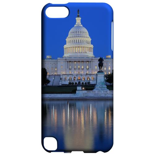 Geeks Designer Line (GDL) Slim Hard Case for Apple iPod Touch 5 - Washington D.C.