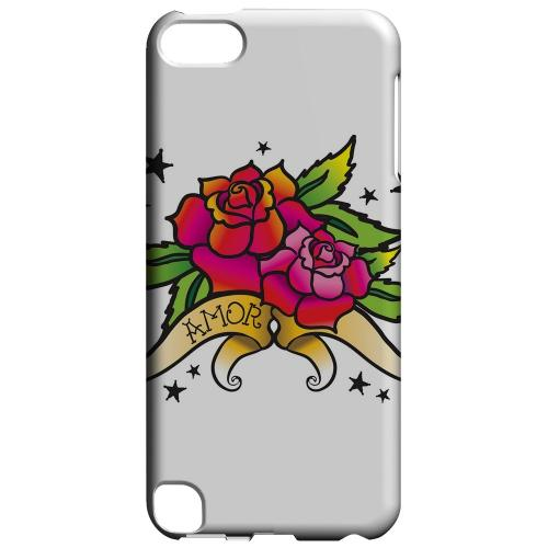 Geeks Designer Line (GDL) Slim Hard Case for Apple iPod Touch 5 - Amor Rose