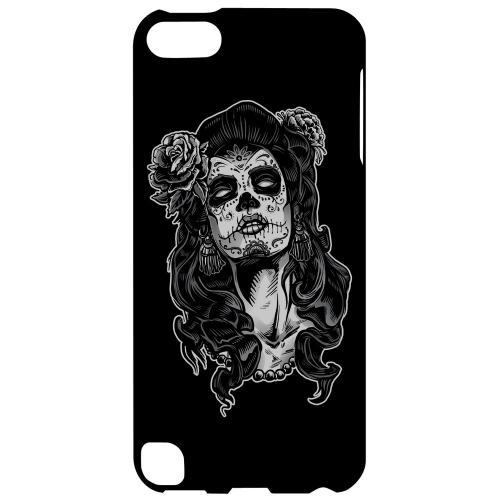 Geeks Designer Line (GDL) Slim Hard Case for Apple iPod Touch 5 - Day of the Dead Girl on Black