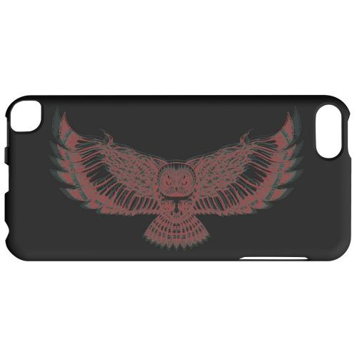 Geeks Designer Line (GDL) Slim Hard Case for Apple iPod Touch 5 - Flying Owl 3D-Esque