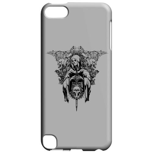 Geeks Designer Line (GDL) Slim Hard Case for Apple iPod Touch 5 - Inkfection on Gray