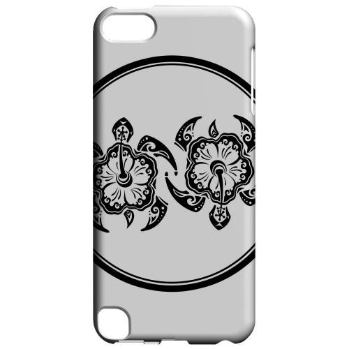 Geeks Designer Line (GDL) Slim Hard Case for Apple iPod Touch 5 - Island Turtle Duo