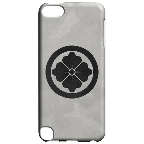 Geeks Designer Line (GDL) Slim Hard Case for Apple iPod Touch 5 - Hanabishi Kamon on Paper