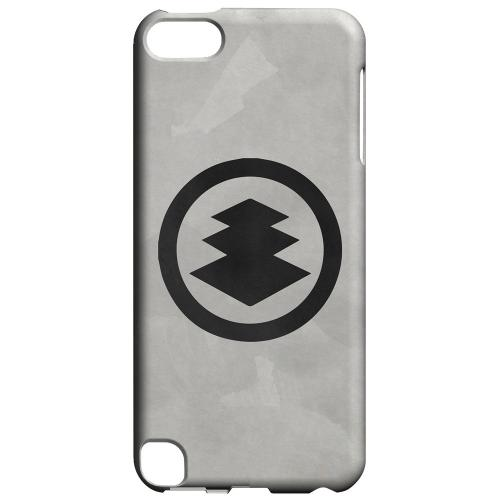 Geeks Designer Line (GDL) Slim Hard Case for Apple iPod Touch 5 - Hishi Kamon on Paper