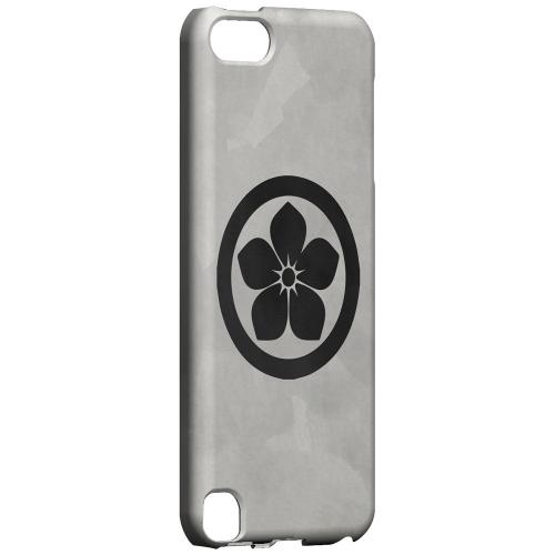 Geeks Designer Line (GDL) Slim Hard Case for Apple iPod Touch 5 - Kikyo Kamon on Paper v.2