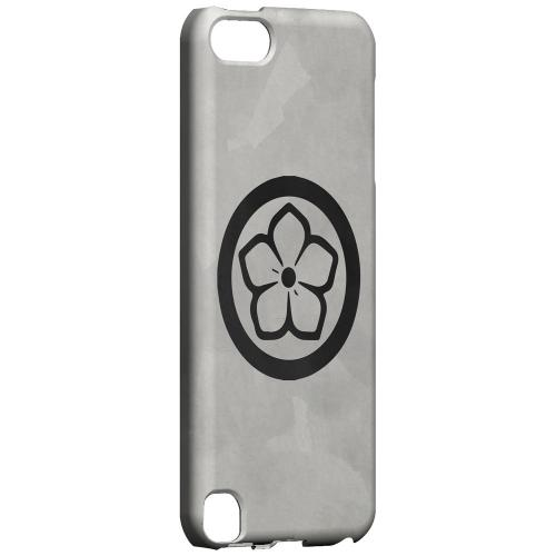 Geeks Designer Line (GDL) Slim Hard Case for Apple iPod Touch 5 - Kikyo Kamon on Paper v.4