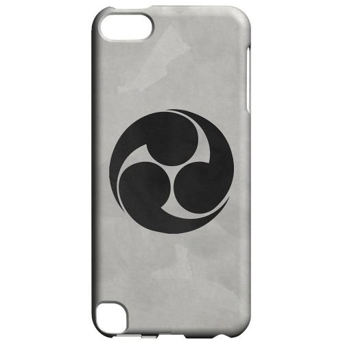 Geeks Designer Line (GDL) Slim Hard Case for Apple iPod Touch 5 - Tomoe Kamon on Paper v.1