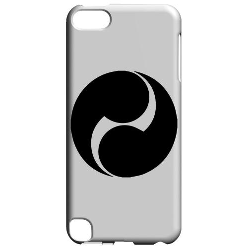 Geeks Designer Line (GDL) Slim Hard Case for Apple iPod Touch 5 - Tomoe Kamon v.2