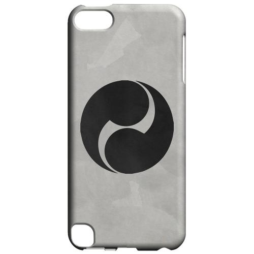 Geeks Designer Line (GDL) Slim Hard Case for Apple iPod Touch 5 - Tomoe Kamon on Paper v.2