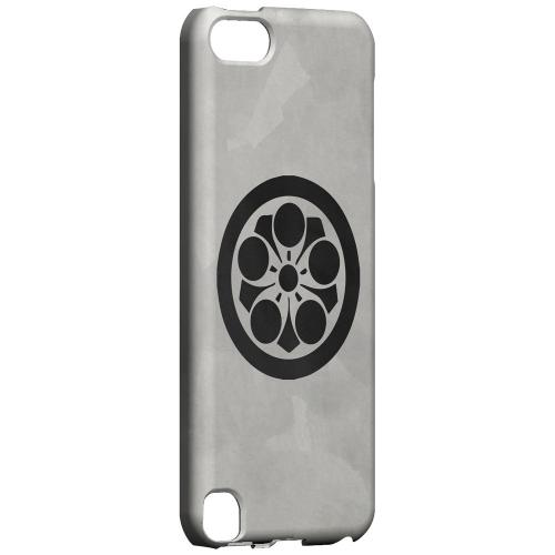 Geeks Designer Line (GDL) Slim Hard Case for Apple iPod Touch 5 - Umebachi Kamon on Paper v.2