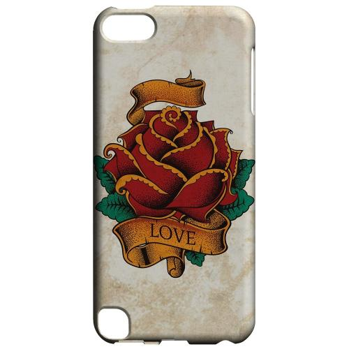 Geeks Designer Line (GDL) Slim Hard Case for Apple iPod Touch 5 - Love Rose