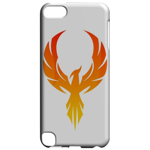 Geeks Designer Line (GDL) Slim Hard Case for Apple iPod Touch 5 - Phoenix Flame