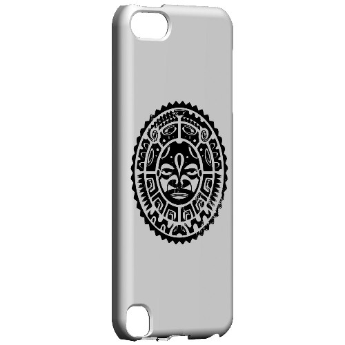 Geeks Designer Line (GDL) Slim Hard Case for Apple iPod Touch 5 - Polynesian Face