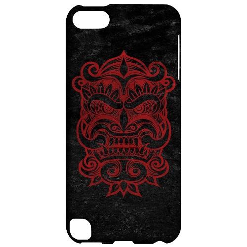 Geeks Designer Line (GDL) Slim Hard Case for Apple iPod Touch 5 - Red Devil Mask