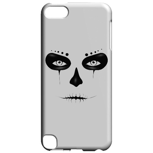 Geeks Designer Line (GDL) Slim Hard Case for Apple iPod Touch 5 - Skull Face