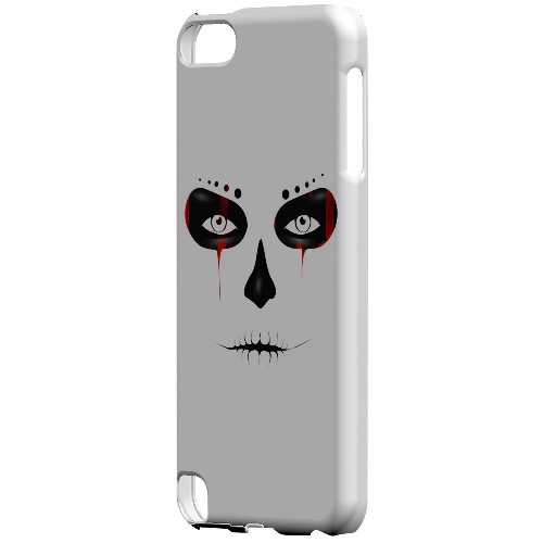 Geeks Designer Line (GDL) Slim Hard Case for Apple iPod Touch 5 - Skull Face Blood