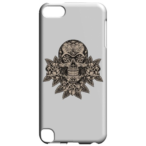 Geeks Designer Line (GDL) Slim Hard Case for Apple iPod Touch 5 - Skull Roses