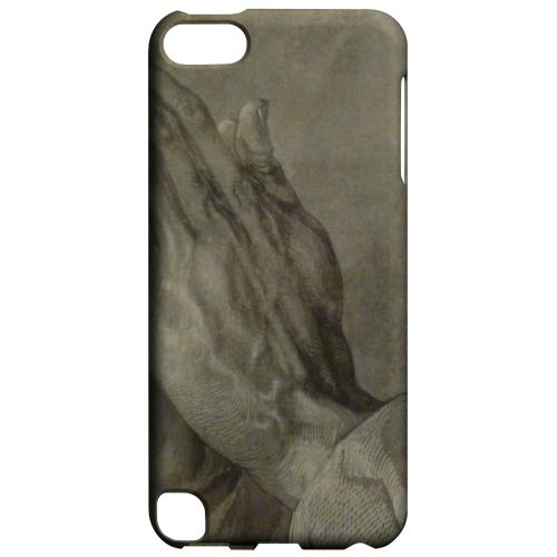 Geeks Designer Line (GDL) Slim Hard Case for Apple iPod Touch 5 - Albrecht Durer Praying Hands