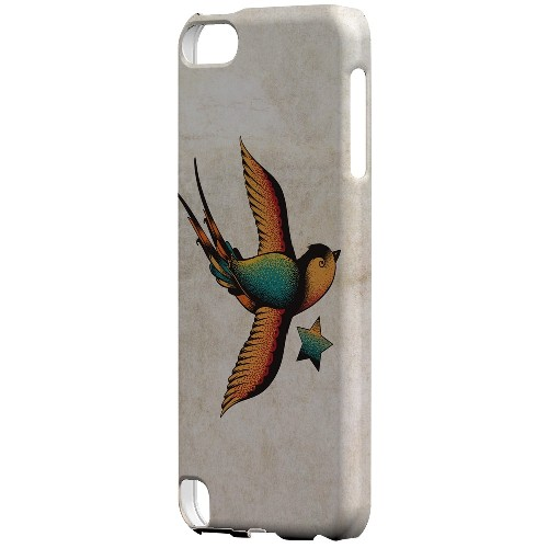 Geeks Designer Line (GDL) Slim Hard Case for Apple iPod Touch 5 - Swallow Star
