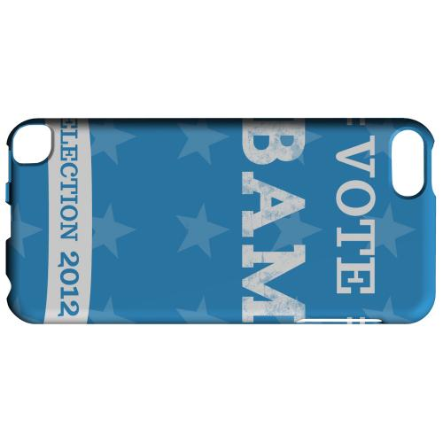 Geeks Designer Line (GDL) Slim Hard Case for Apple iPod Touch 5 - Vote Obama 2012
